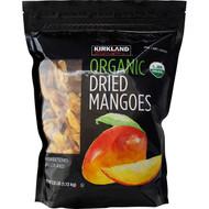Kirkland Signature Organic Dried Mangoes 1.13KG | Fairdinks