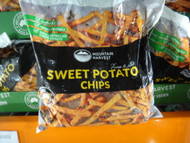 Mountain Harvest Sweet Potato Chips 1.8KG | Fairdinks