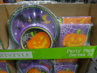 Halloween Party Pack 120 CT | Fairdinks