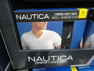 Nautica Mens 3PK V-Neck Tee US Sizes: S - XL | Fairdinks