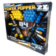 Atomic Power Popper Battle Pack With 84 Foam Balls   Fairdinks