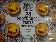 Tables & Tales Portuguese Tarts 24PK 1.45KG | Fairdinks
