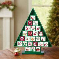 Wooden Advent Tree Calendar | Fairdinks