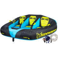 Sidewinder Towable With Tube & Pump - 3 Person | Fairdinks