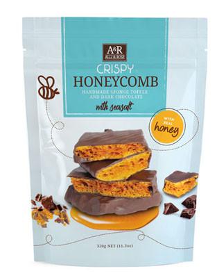 Alli & Rose Dark Choc Honeycomb 320G | Fairdinks