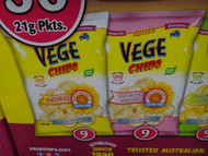 Ajitas Vege Chips Variety Box 36 x 21G | Fairdinks