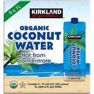 Kirkland Signature Organic Coconut Water 9x1L | Fairdinks