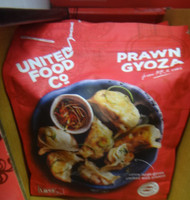 United Food Co. Prawn Gyoza 1.2KG   Fairdinks