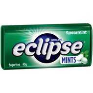 Wrigley's Eclipse Spearmint Mints 12 x 40G | Fairdinks