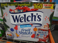 Welch's Christmas Fruit Snacks 160x14G Fun Size Pouches   Fairdinks