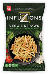 Majans Infuzions Veggie Straws 30 x 15G | Fairdinks
