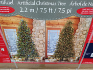 7.5Ft Artificial Christmas Tree Pre Lit 2 Tone Led 700 Count