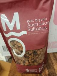 Murray River Organic Sultanas 1kg
