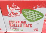 Four Hands Australian Rolled Oats 4.5KG | Fairdinks