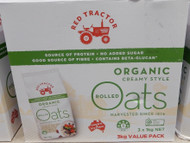 Red Tractor Organic Oats 3KG | Fairdinks