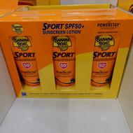 Banana Boat Sport Sunscreen SPF50 + 3 x 200g