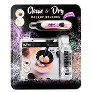StylPro Make Up Brush Cleaner and Solution Kit | Fairdinks