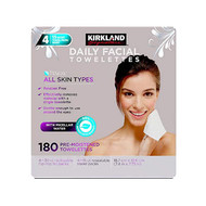 Kirkland Signature Micellar Daily Facial Cleansing Wipes 180 Count | Fairdinks