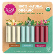 EOS Organic Assorted Lip Balm 9 Sticks | Fairdinks