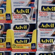 Advil Rapid Release Tablets 24 Tablets | Fairdinks