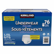 Kirkland Signature Incontinence Men Pants Large / X Large 76 PCS | Fairdinks