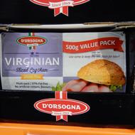 Dorsogna Virginian Ham 4 x 125G | Fairdinks