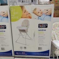Mother's Choice Rainbow Compact Highchair