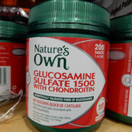 Nature's Own Glucosamine Sulfate Chondroitin 200 Tablets | Fairdinks