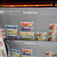 Snapware Plastic Food Storage 38 Piece Set  Fairdinks