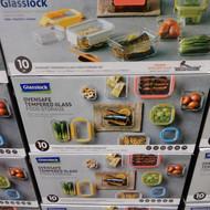 Glasslock Premium Glass Containers 10 Piece Set | Fairdinks