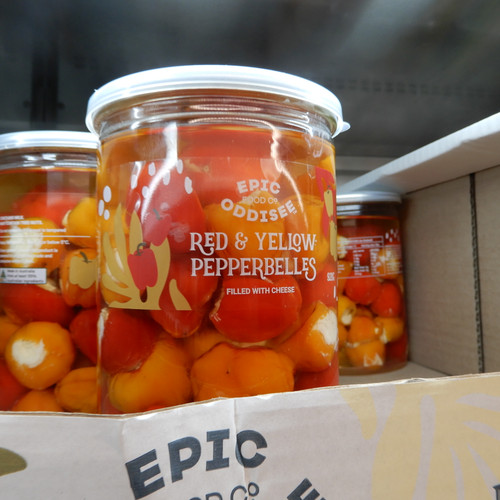 Epic Oddisee Food Co Duo Babybell Peppers 920G | Fairdinks