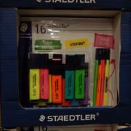 Staedtler TextSurfer Highlighter 12 Classic + 4 Triplus | Fairdinks