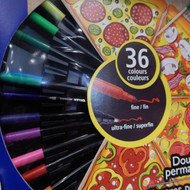 Staedtler Double Ended Marker 36 Assorted Colours | Fairdinks