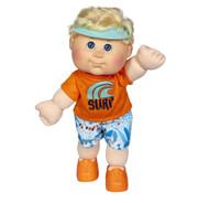 """Cabbage Patch Kids 14"""" Dolls - 14"""" Boy Lt Blue Blo Surfer Dude   Fairdinks"""