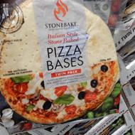 Stonebake Pizza Base Italian Style 2x2PK | Fairdinks
