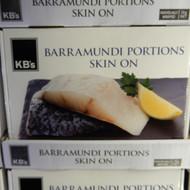 KB's Barramundi Portions 2KG | Fairdinks