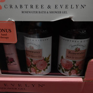 Crabtree & Evelyn 2 x 500ML Rosewater Body Wash + 25G Hand Therapy | Fairdinks