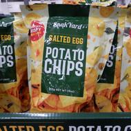 Snakyard Salted Egg Potato Chips 255G | Fairdinks