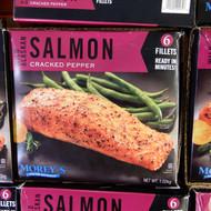 Morey's Wild Alaskan Salmon Cracked Pepper 1.02KG | Fairdinks