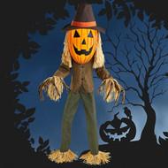 "84""/214CM Animated Pumpkin Scarecrow | Fairdinks"