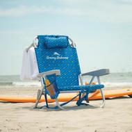 Tommy Bahama Backpack Beach Chair - Blue   Fairdinks
