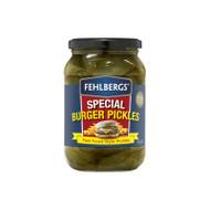 Fehlbergs Sliced Burger Pickles 1.9KG   Fairdinks