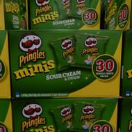 Pringles Minis Sour Cream & Onion 30 x 19G   Fairdinks