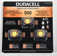 Duracell Head Lamp 500 Lumen 3PK | Fairdinks