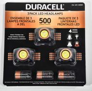 Duracell Head Lamp 500 Lumen 3PK | Fairdinks