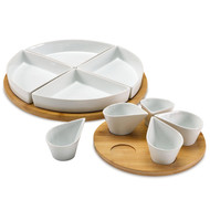 Over & Back Lazy Susan 11 Piece | Fairdinks