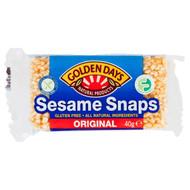 Golden Days Sesame Snaps 36 Pack 36 x 40g | Fairdinks