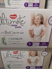 Huggies Ultimate Nappy Pants Size 5. Pack of 80