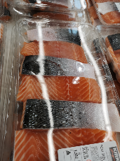 Fresh Skin On Salmon Center Cut Portions