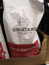 Grinders Rich Espresso Coffee Beans 1kg